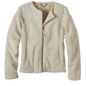 Prana Good Lux Jacket in Off White Color Size M